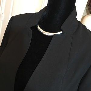 JustFab Jackets & Coats - Black Blazer/Jacket Size Large